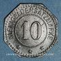 Münzen Forbach (57). Ville. 10 pfennig
