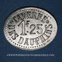 Münzen Grenoble (38). Taverne des Dauphins. 1 franc 25