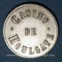 Münzen Houlgate (14). Casino. Jeton sans valeur. Maillechort