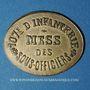 Münzen Infanterie. 107e. Mess des Sous-Officiers. Angoulême (16). 5 centimes