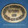 Münzen Infanterie. 107e. Mess des Sous-Officiers. Angoulême (16). 50 centimes