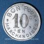 Münzen Jarnac (16). Epicerie Ch. Mallat. 10 centimes 1922