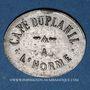 Münzen L'Horme (42). Café Duplanil. 12 centimes 1/2