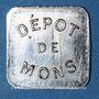 Münzen Le Puy (43). Dépot de Mons (prisonniers de Guerre). 1 franc