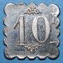Münzen Le Puy (43). Dépot de Mons (prisonniers de Guerre). 10 francs