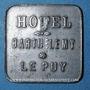 Münzen Le Puy (43). Hôtel Barthélemy. 50 centimes contremarqué R
