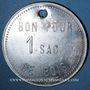 Münzen Les Cévennes (30). Houillères du Bassin des Cévennes - Groupe centre. 1 sac de bois. Frappe médaille