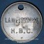 Münzen Les Cévennes (30). Houillères du Bassin des Cévennes. Jeton de lampisterie, H.B.C. N° 130
