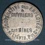 Münzen Liévin (62). Coopérative des Employés et Ouvriers des Mines de Liévin. Boulangerie 1922