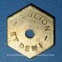 Münzen Lille (59). L'Indépendante. 1 jeton et demi