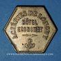 Münzen Longwy (54). Aciéries de Longwy - Hôtel Economat. 1 franc 1883