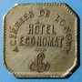 Münzen Longwy (54). Aciéries de Longwy - Hôtel Economat. 5 centimes 1883