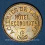 Münzen Longwy (54). Aciéries de Longwy - Hôtel Economat. 50 centimes 1883