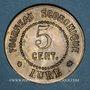 Münzen Lure (70). Fourneau Economique. 5 centimes