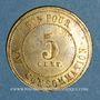 Münzen Lyon (69). Brasserie Hoffherr. 5 centimes