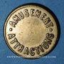 Münzen Lyon (69). Kermesses de Lyon - Amusement. Attractions. sans valeur