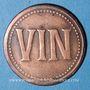 Münzen Lyon (69). Manufacture Lyonnaise de Matières Colorantes. Vin