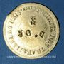 Münzen Lyon (69). Société des Travailleurs Unis. 50 centimes