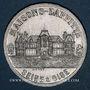 Münzen Maisons-Laffite (78). Association des Commerçants et Industriels. 1 franc 1920