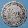 Münzen Marseille (13). Exposition Coloniale (1922) - Ferme Provençale, Restaurant-Brasserie. 1 franc 25