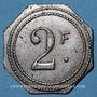Münzen Marseille (13). Exposition Coloniale (1922) - Ferme Provençale, Restaurant-Brasserie. 2 francs