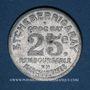 Münzen Mauléon (64). Etcheberrigaray (épicier). 25 centimes