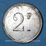 Münzen Mesnay (39). Usine de Mesnay. 2 francs