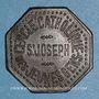 Münzen Metz (57). Cercle Catholique Saint Joseph. 1 bière