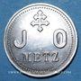 Münzen Metz (57). J. O. (Jeunes Ouvriers). sans valeur