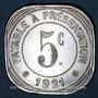 Münzen Montpellier (34). Etablissements Ossart. 5 centimes 1921