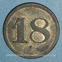 Münzen Mulhouse (68). Joseph Klintz, restaurant. 18 pfennig