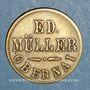 Münzen Obernai (67). Ed. Müller. 1 chope (de bière)