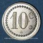 Münzen Ottange (57). Société Coopérative de Nondkeil. 10 centimes
