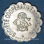 Münzen Ottange (57). Société Coopérative de Nondkeil. 25 centimes. Maillechort