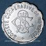 Münzen Ottange (57). Société Coopérative de Nondkeil. 5 centimes