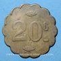 Münzen Paris (75). Maîtrise St Sulpice. 5 centimes