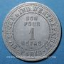 Münzen Paris (75). Sté Tech. & Ind. d'Entreprises. 1 repas