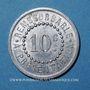 Münzen Réalmont (81). Pharmacie F. Gisclard. 10 centimes 1922