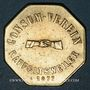 Münzen Ribeauvillé (68). Consum Verein. Fünf Pfund Brod (5 livres de pain). 1877. Flan mince
