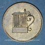 Münzen Ribeauvillé (68). Zum Hoh-Rappolstein. (1 chope de bière)