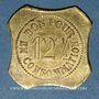 Münzen Saint-Etienne (42). Café J. Seyre Fils Ainé à Bérard - Vins en Gros. 12 centimes 1/2