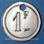 Münzen Saint-Etienne (42). Cantines Scolaires. 1 franc