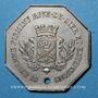 Münzen Saint-Etienne (42). Tramways à Vapeur, Bellevue, Terrasse, St Etienne, Firminy, ..., 10 centimes