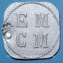 Münzen Saint-Hippolyte-du-Fort (30). E. M. C. M. (Ecole Militaire Coopétative Militaire). 25 centimes