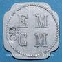Münzen Saint-Hippolyte-du-Fort (30). E. M. C. M. (Ecole Militaire Coopétative Militaire). 50 centimes