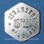 Münzen Saint-Just-Saint-Rambert (42). Saint Rambert S/Loire. 5 centimes / potage