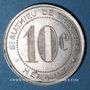 Münzen Saint-Mathieu-de-Tréviers (34). Maison Rigail. 10 centimes