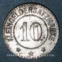 Münzen Sarre-Union (67). Ville. 10 (pfennig)