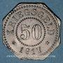 Münzen Sarrebourg (57). Ville. 50 pfennig 1917
