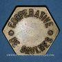 Münzen Saulnes (54). Coopérative de Saulnes. Flûte. Non perforé